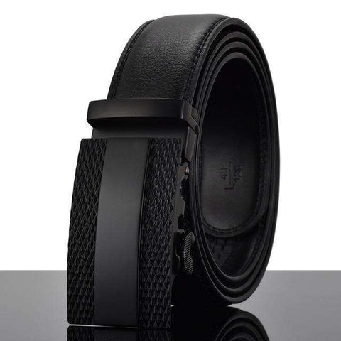 The Geess X / 110cm Men`s Fashion Designers Automatic Buckle Leather luxury Belts