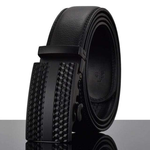 The Geess Y / 110cm Men`s Fashion Designers Automatic Buckle Leather luxury Belts