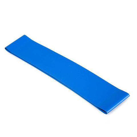 Image of thegeess Blue Exercise Resistance Loop Bands Fitness Stretch-Elastic Power Weight Bands