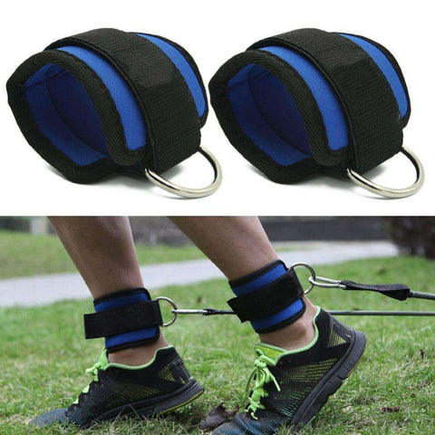 Image of Adjustable Body Building Gym Ankle Strap