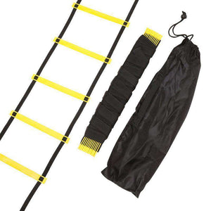thegeess Durable 9 rung 16.5 Feet 5M Agility Ladder for Soccer and Football Speed Training