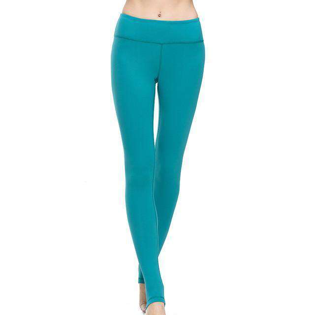 thegeess LakeBlue / L Fitness Women Yoga Pants Gym Tights Fitness Pants Women Sports Leggings