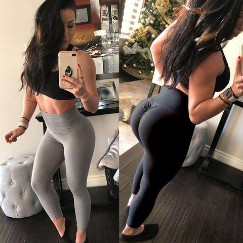 thegeess Women's Fashion Workout Leggings Fitness Sports Gym Running Yoga Athletic Pants
