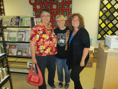 Linda Taylor & Shelley Byers Longarm Quilting Class