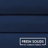 Quilting Fabrics-Fresh Solids Navy by Camelot Fabrics