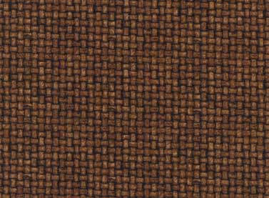 Quilting Fabric Home to Roost-Brown Basket Weave by Terri Degenkolb of Whimsicals