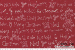 Quilting Fabric Lynette Anderson Candy Cane Angels 35039-30