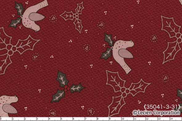 Quilting Fabric Lynette Anderson Candy Cane Angels 35041-31