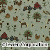 Quilting Fabric Lynette Anderson Mending Fences by Lecien # 35044-70