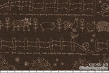 Quilting Fabric Lynette Anderson Mending Fences by Lecien # 35045-80
