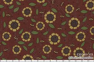 Quilting Fabric Lynette Anderson Mending Fences by Lecien # 35048-30
