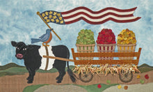 Wool Art Harvest Helpers Pattern by Meetinghouse Hill Designs
