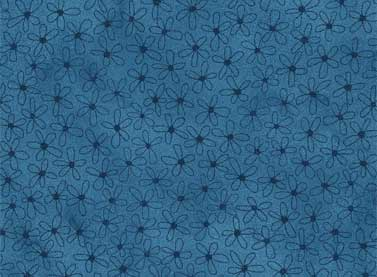 Quilting Fabric Sew Nice To Be Home-Dark Blue by Red Rooster