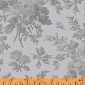 Windham Fabrics Blue Floral Wideback by Whistler Studios
