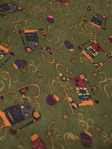 Quilting Fabric Buggy Barn Aunt Mabel Mittens by Henry Glass