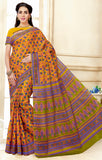 Designer Casual Wear Pure Cotton Printed Saree By Takshaya