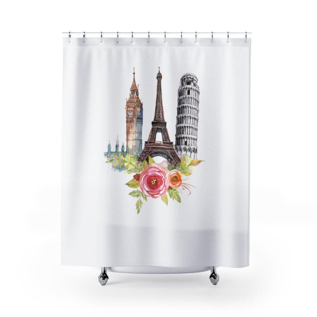 European Icons Shower Curtain