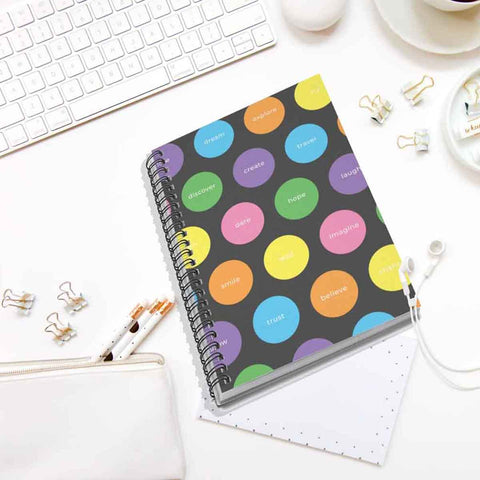 Encouraging Words Spiral Notebook