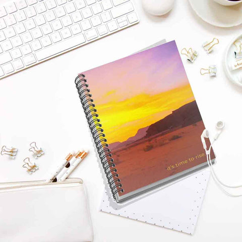 It's Time to Rise Spiral Notebook