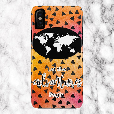 Let the Adventures Begin Phone Case