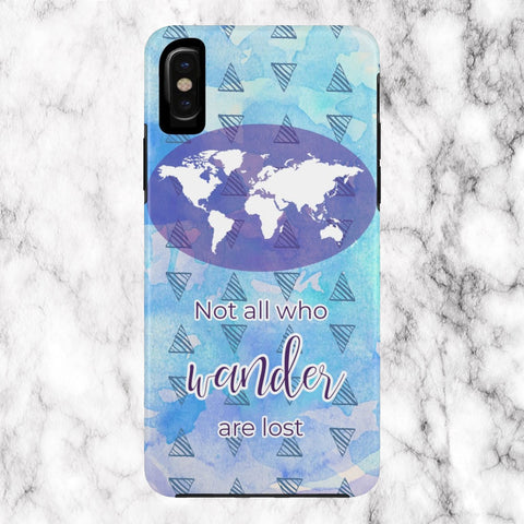 Not All Who Wander Phone Case