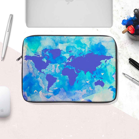 Purple World Laptop Sleeve
