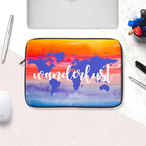 Wanderlust Laptop Sleeve