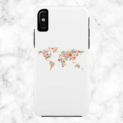 Watercolor World Case Mate Tough Phone Case