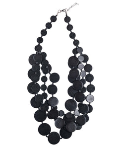 Necklace Fiorella - black