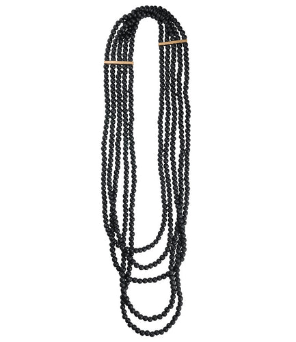 Necklace Annabelle - black