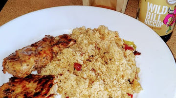 Rai's Rampant 'Wild' Pheasant With Spiced Couscous
