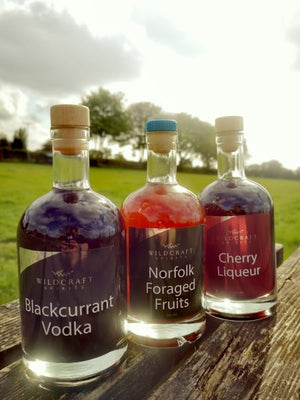Blackcurrant Vodka - 200ml and 500ml