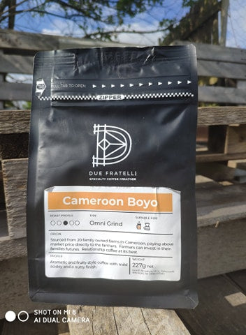 Coffee - Cameroon Boyo - 227g