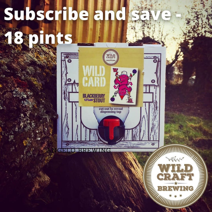 Subscribe and save - 18 pint Polypin - Local delivery only - Wildcraft Brewery