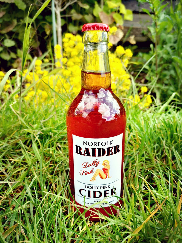 Norfolk Raider - Dolly Pink Cider - 4%