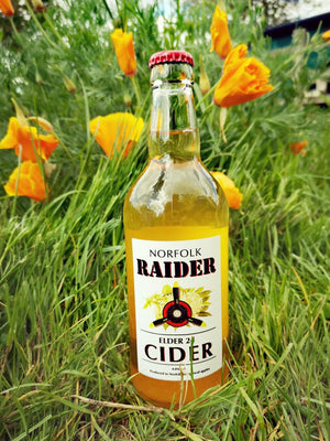 Norfolk Raider - Elder 24 Cider - 4% - Wildcraft Brewery