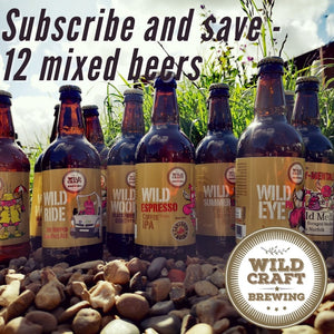 Subscribe and save - Bottles - Local Delivery only - Wildcraft Brewery