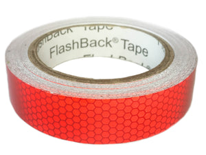 Red Glass Bead Reflective Tape