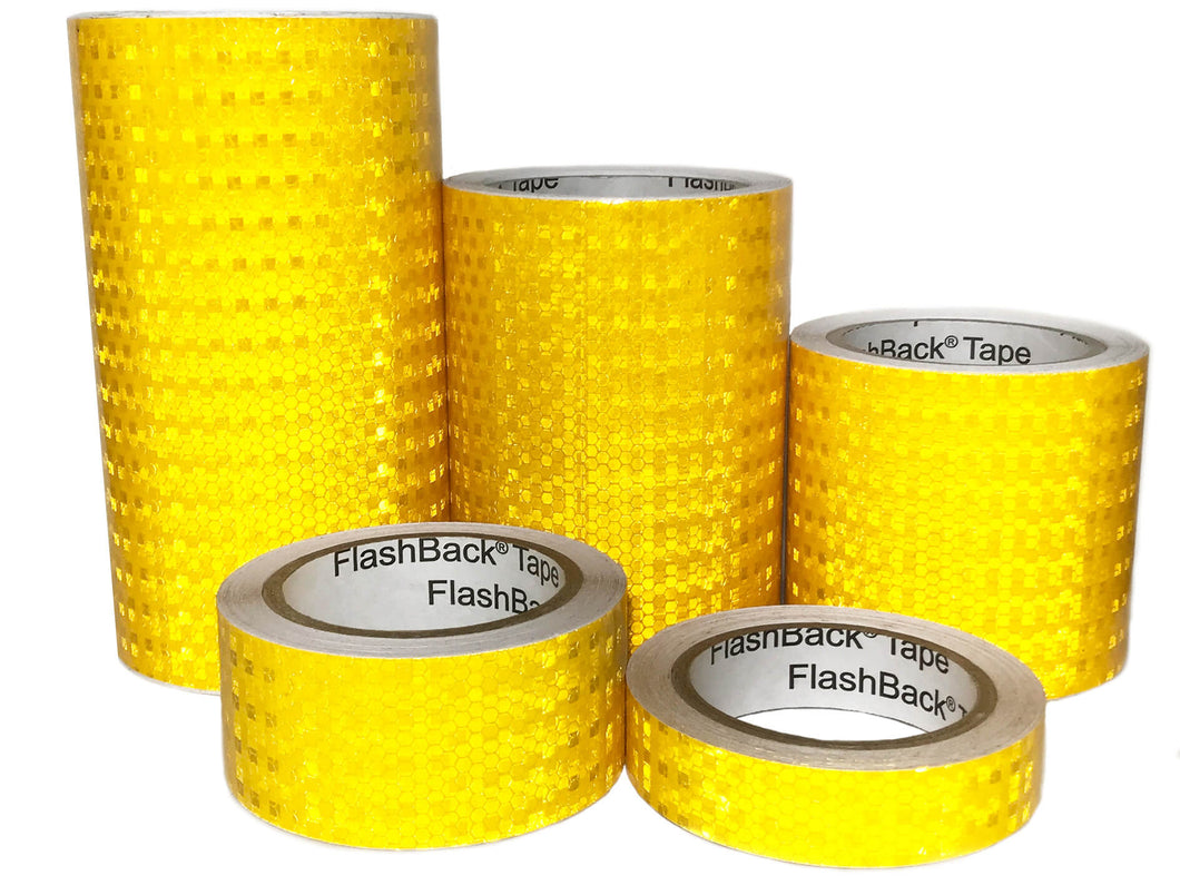 Golden Yellow Reflective Tape by FlashBack Tape