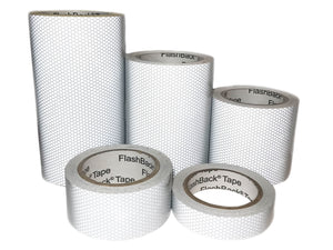 Silver Glass Bead Reflective Tape