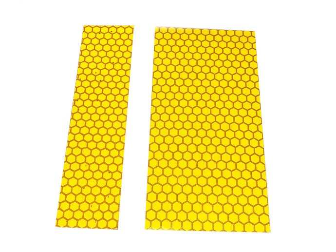 High Intensity Yellow Self Adhesive Reflective Strip