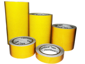 Yellow High Intensity Reflective Tape in various widths.