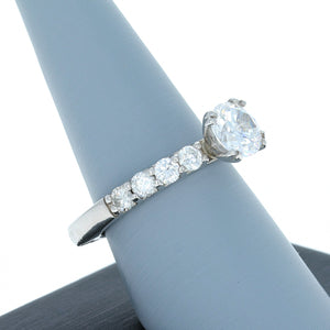 A Jaffe Diamond Engagement Ring in Platinum MES078/80