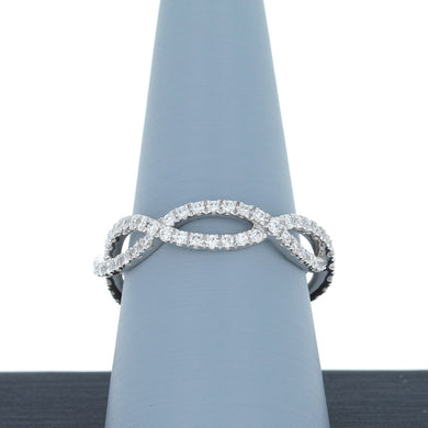 A Jaffe Diamond Eternity Band in White Gold WR0849/69