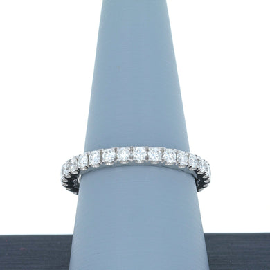 A Jaffe Diamond Eternity Band in White Gold WR1024/102