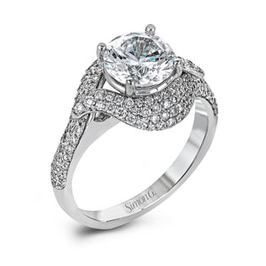 Simon G DR356 Diamond Engagement Ring