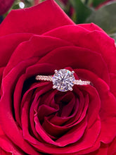 Simon G Engagement Ring Semi Mount in 18K White Gold LR2350