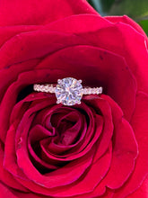 Simon G Engagement Ring Semi Mount in 18K White Gold MR3005-W