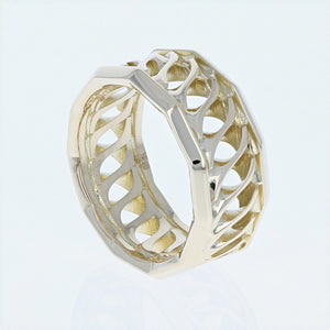 Lance Pierce Sidewinder Band in 18K Yellow Gold