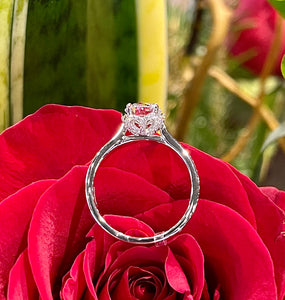 Simon G Engagement Ring Semi Mount in 18K White Gold MR2945
